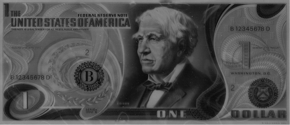 In IPSC we trust - Billet de 1 dollar